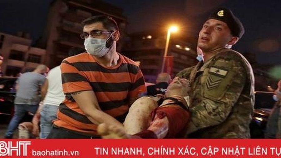 Nga, Pháp mở bệnh viện dã chiến giúp Lebanon vượt qua thảm kịch