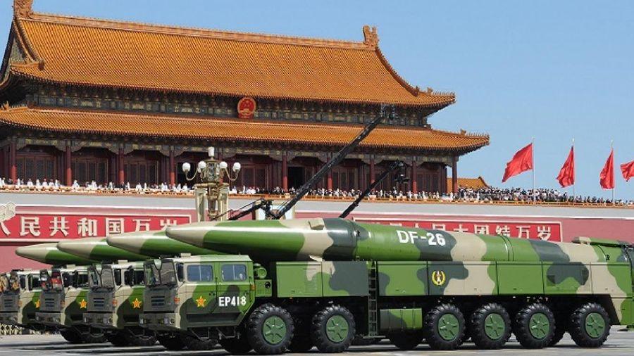 Trung Quốc 'khoe' tên lửa chống hạm có thể đánh chìm tàu sân bay Mỹ