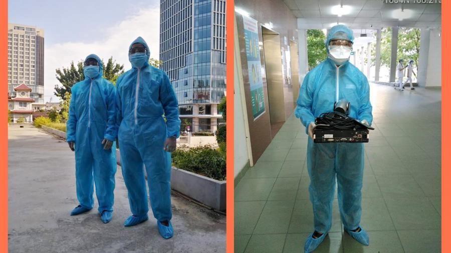 Các nhà mạng đảm bảo dịch vụ viễn thông tại bệnh viện dã chiến Đà Nẵng