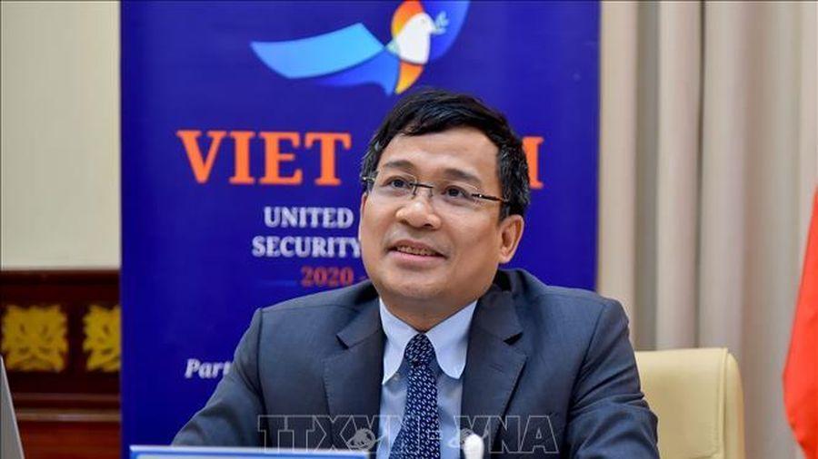 Việt Nam tham dự Phiên thảo luận mở trực tuyến của Hội đồng Bảo an Liên hợp quốc