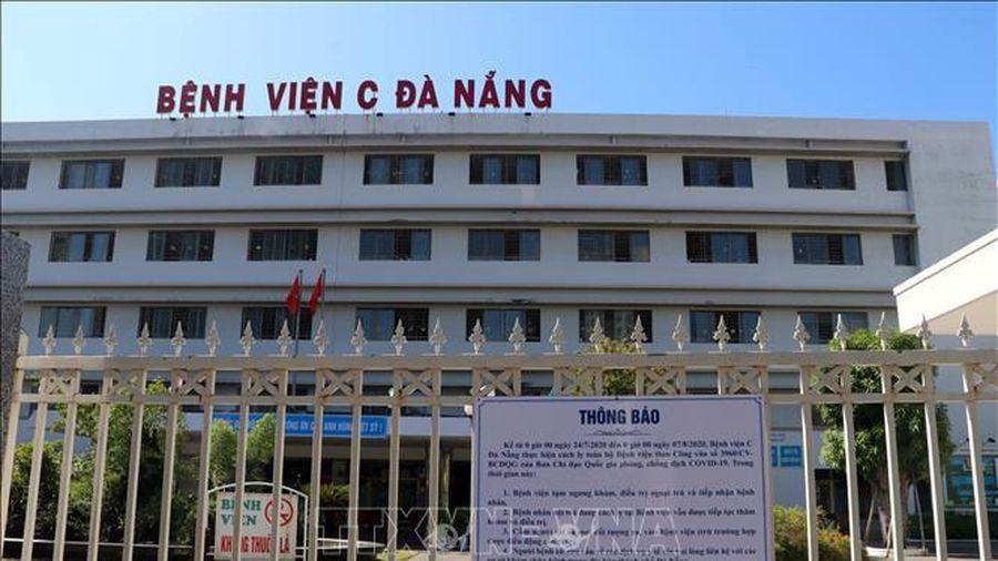 Dỡ lệnh phong tỏa Bệnh viện C Đà Nẵng vào 0h ngày 8/8