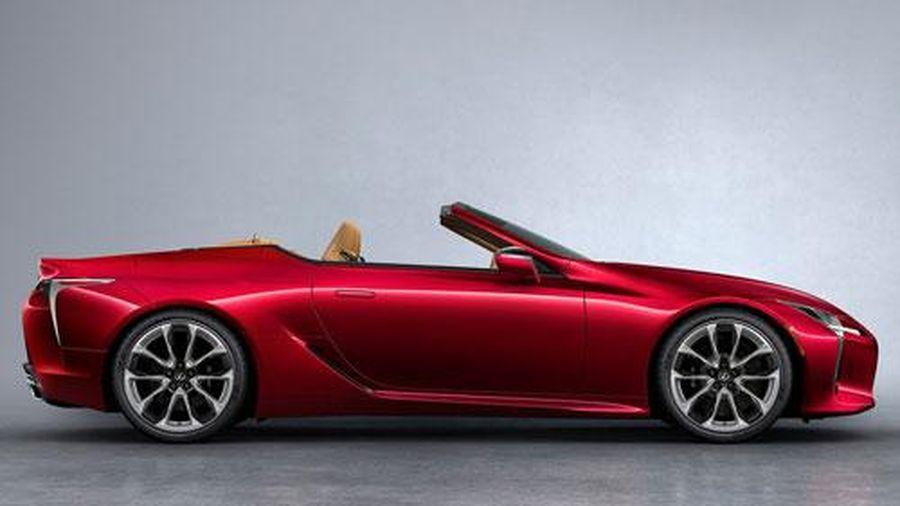 Khám phá Lexus LC 500 Convertible 2021: Công suất 477 mã lực, giá hơn 2 tỷ