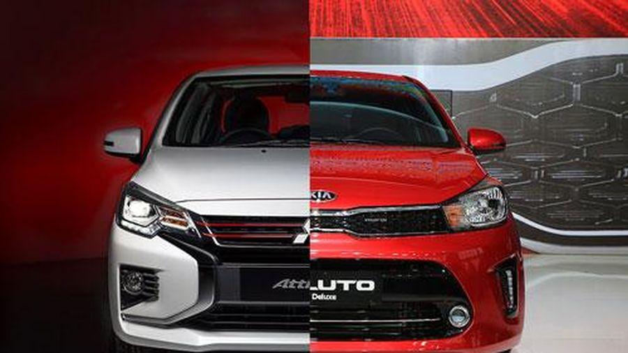 So sánh chi tiết Mitsubishi Attrage với Kia Soluto