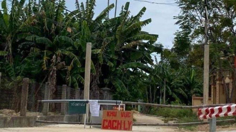 Tiếp tục phong tỏa thêm khu vực nguy cơ lây nhiễm Covid-19 tại huyện Đại Lộc