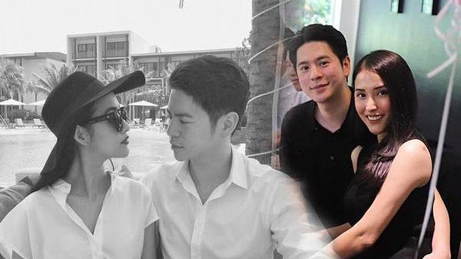 Kết hôn đã lâu, Mai Hồ và ông xã Việt kiều vẫn không quên diện đồ đôi đi hẹn hò