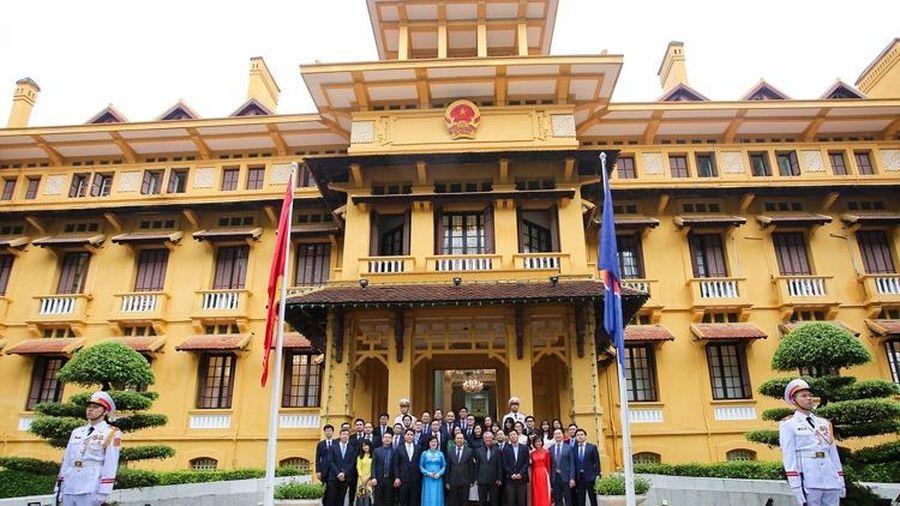 Lễ thượng cờ ASEAN 2020