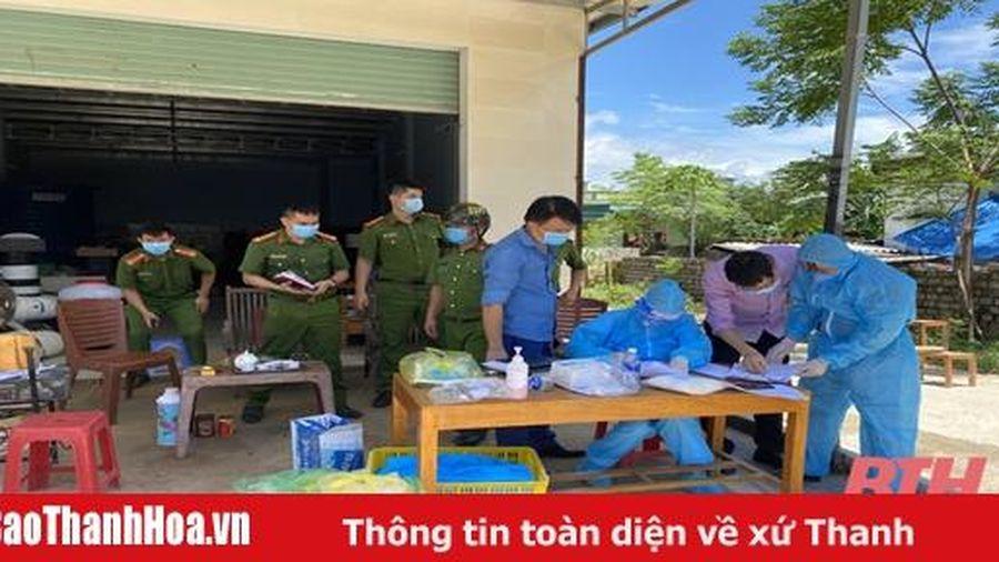 Công an TP Sầm Sơn: Triển khai các biện pháp cấp bách phòng chống COVID-19