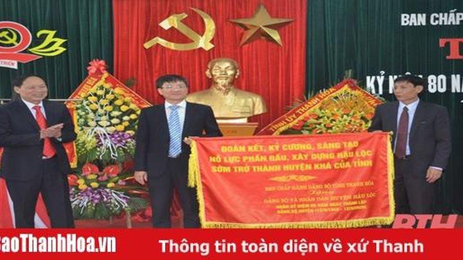 Tạo bước phát triển mới, sớm đưa Hậu Lộc trở thành huyện khá của tỉnh