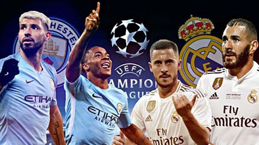 Manchester City - Real Madrid: Mong chờ bữa tiệc bóng đá tấn công