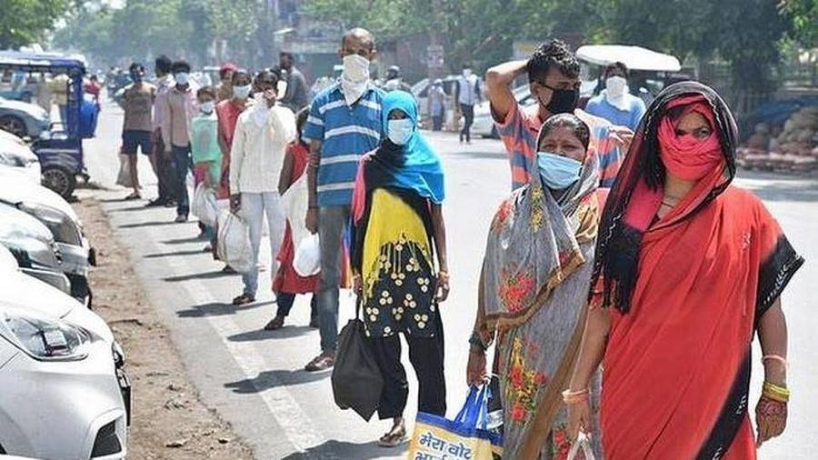 Ấn Độ thông báo số ca mắc COVID-19 đã vượt 2 triệu người, tăng gấp đôi chỉ trong 3 tuần
