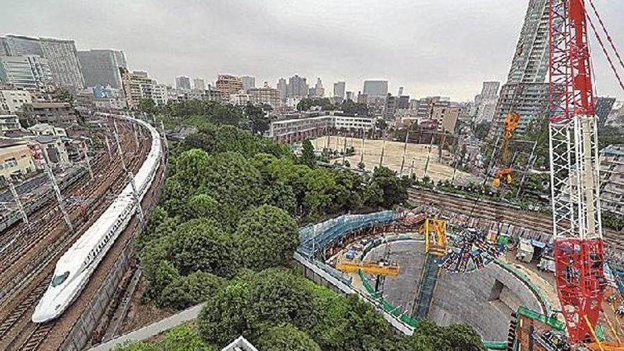 Máy khoan hầm cho tàu hỏa Maglev sớm ra mắt tại Tokyo