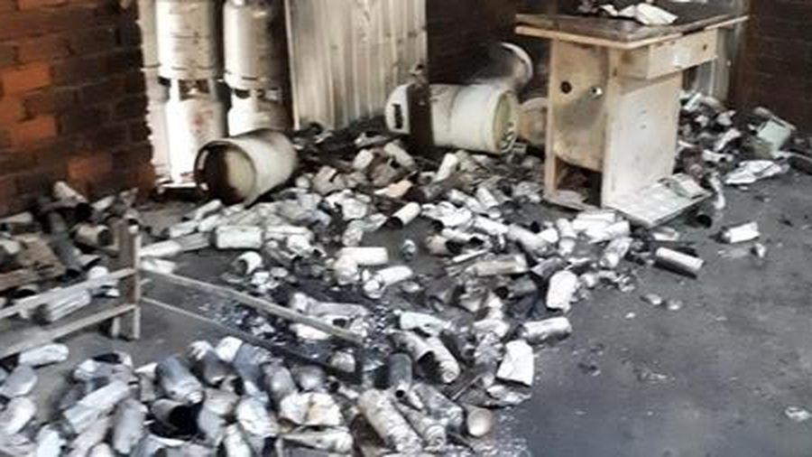 Một người tử nạn sau vụ nổ khí gas ở TP Nha Trang