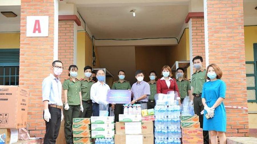Tuổi trẻ Công an Đắk Lắk chung tay phòng, chống dịch COVID-19