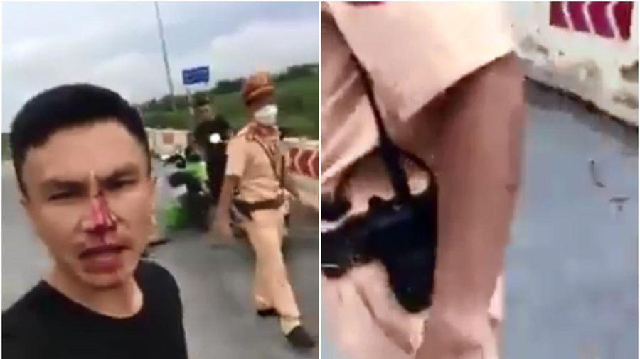 Thực hư thông tin CSGT Hà Nội đánh 'hộc máu mũi' người đi đường