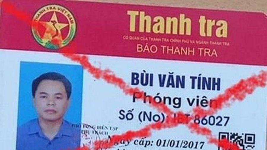 Lái xe bỏ 3 triệu đồng mua 'thẻ phóng viên' giả để qua mặt cảnh sát giao thông