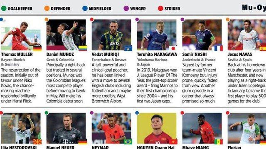 Báo quốc tế đặt câu hỏi về việc Quang Hải chưa sang châu Âu chơi bóng