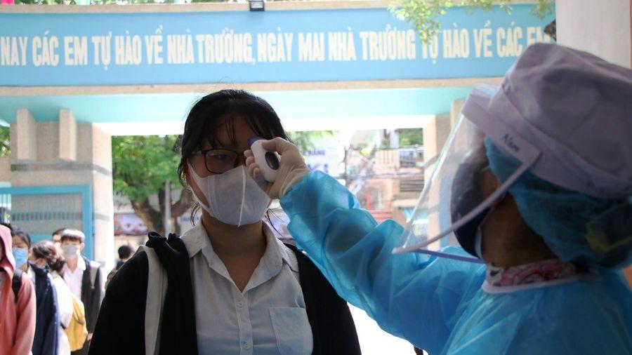 Quảng Ngãi: Khẩn cấp dừng điểm thi có 352 thí sinh liên quan đến bệnh nhân 786