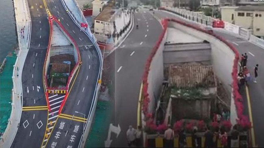 Nguyên nhân bất ngờ đằng sau cây cầu có 'đường cong' quái dị