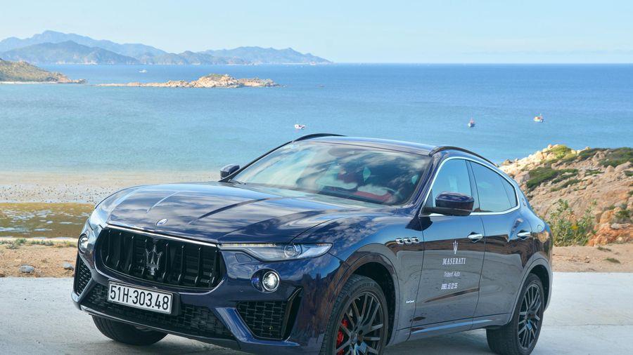 Chi tiết Maserati Levante tại VN, SUV hạng sang giá từ 5,5 tỷ đồng