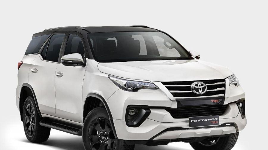 Toyota Fortuner TRD Limited Edition ra mắt, lắp sẵn camera hành trình