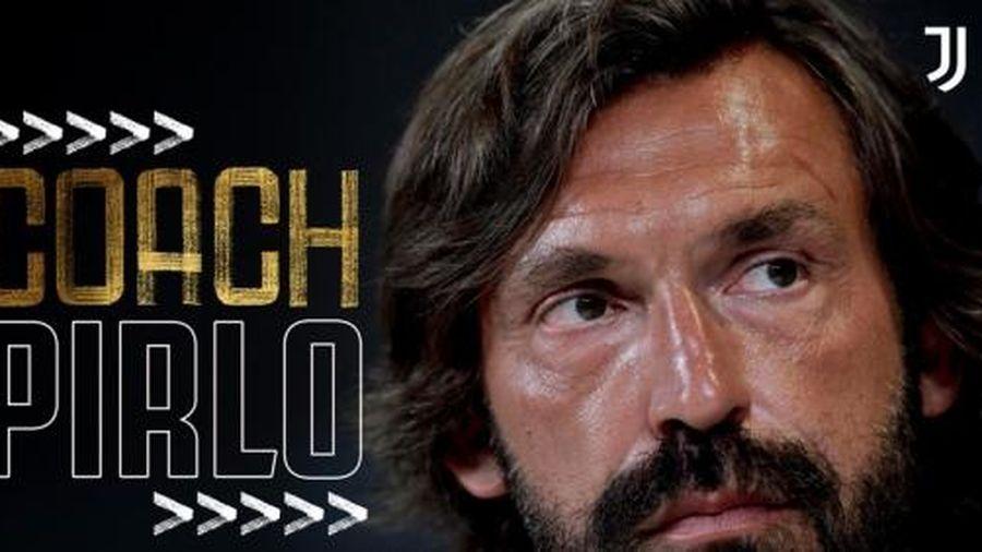 Andrea Pirlo là tân HLV của Juventus