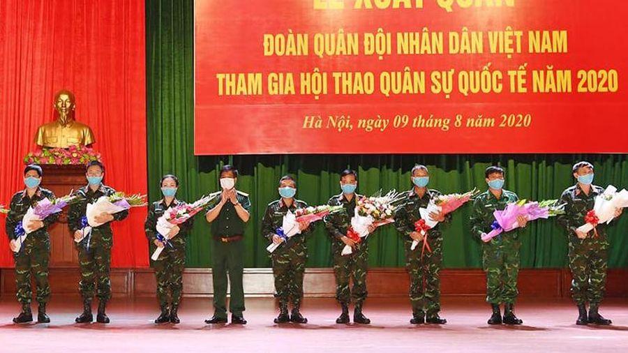 Các đội tuyển Quân đội nhân dân Việt Nam quyết tâm đạt thành tích cao tại Army Games 2020