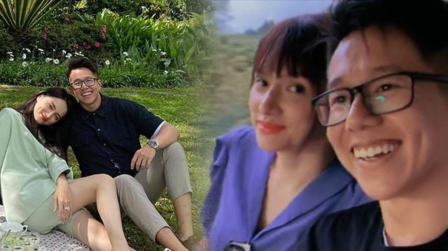 Hòa Minzy tung clip Hương Giang và Matt Liu thân mật, tay trong tay đầy tình cảm