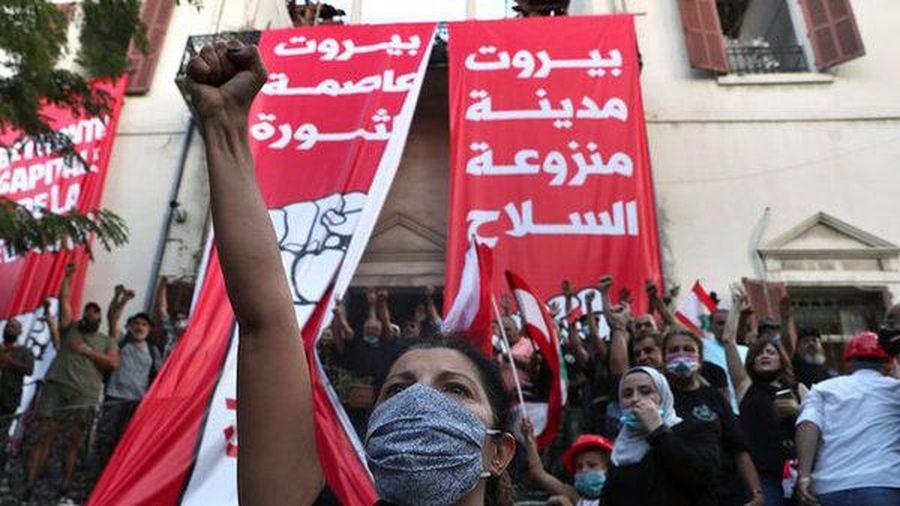 Biểu tình dữ dội ở Lebanon, hàng trăm người bị thương