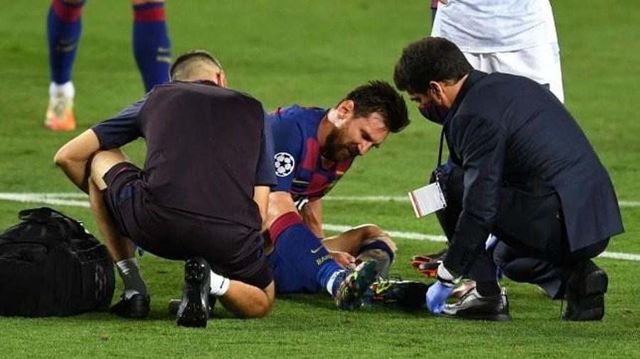Barca cập nhật chấn thương Messi sau khi thắng Napoli