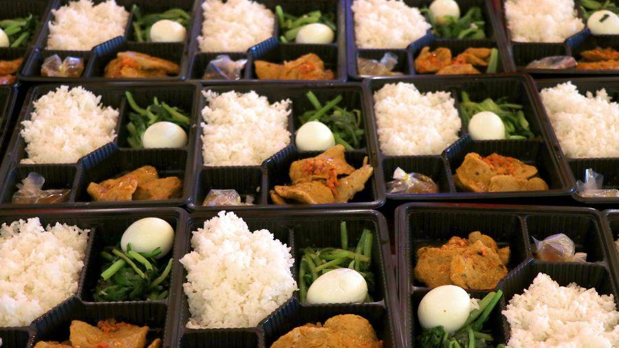 Hình ảnh các suất ăn tại các cơ sở y tế, khu cách ly ở Đà Nẵng