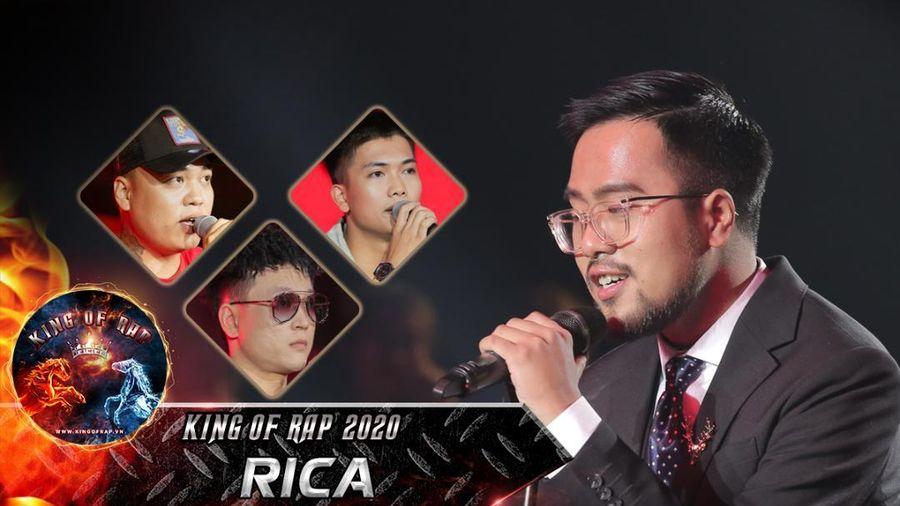 Quán quân Sing My Song 2018 chuyển ngạch sang rap, Rica hát gì mà khiến 4 mentor King Of Rap 'rưng rưng hột lệ'?