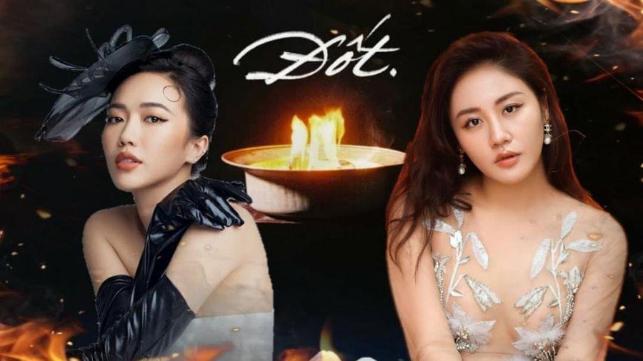 Diệu Nhi công khai giành giật bài mới của Văn Mai Hương, úp mở việc cho ra mắt cả một album cover