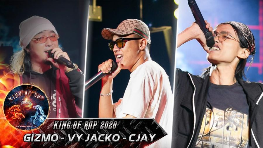Gizmo - CJay - Vy Jacko trình diễn 'hừng hực khí thế' quyết giành dây chuyền vàng King Of Rap