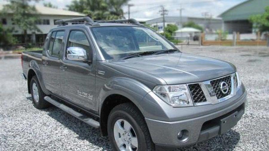 Triệu hồi bán tải Nissan Navara tại thị trường Việt Nam do lỗi túi khí