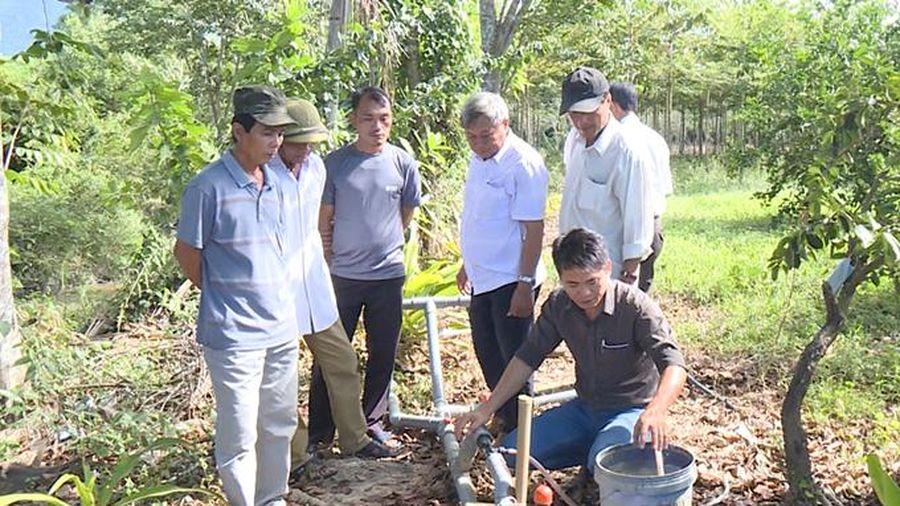 Hiệu quả từ hệ thống tưới tiết kiệm nước