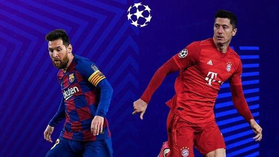 Lịch thi đấu tứ kết Champions League: Chờ xem Barca đại chiến Bayern