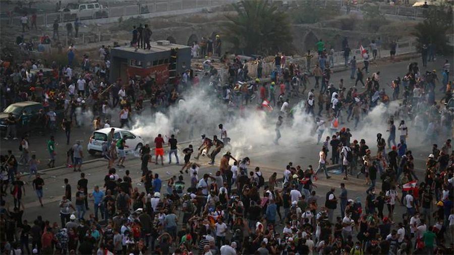 Lửa và giận dữ bao trùm Lebanon trong 'Ngày Phán xét'