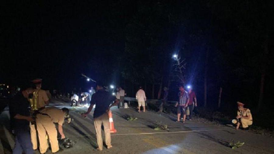 Khởi tố tài xế xe đầu kéo rời khỏi hiện trường sau khi cán chết người