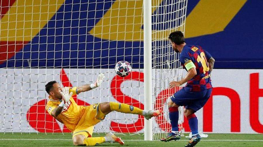 Barca 3-1 Napoli: Không thể cản Messi