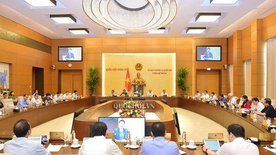 Không tổ chức hoạt động chất vấn tại phiên họp thứ 47 Ủy ban Thường vụ Quốc hội