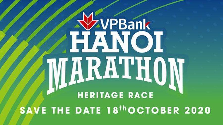 Tổ chức Giải chạy VPBank Hanoi Marathon ASEAN 2020 vào tháng 10