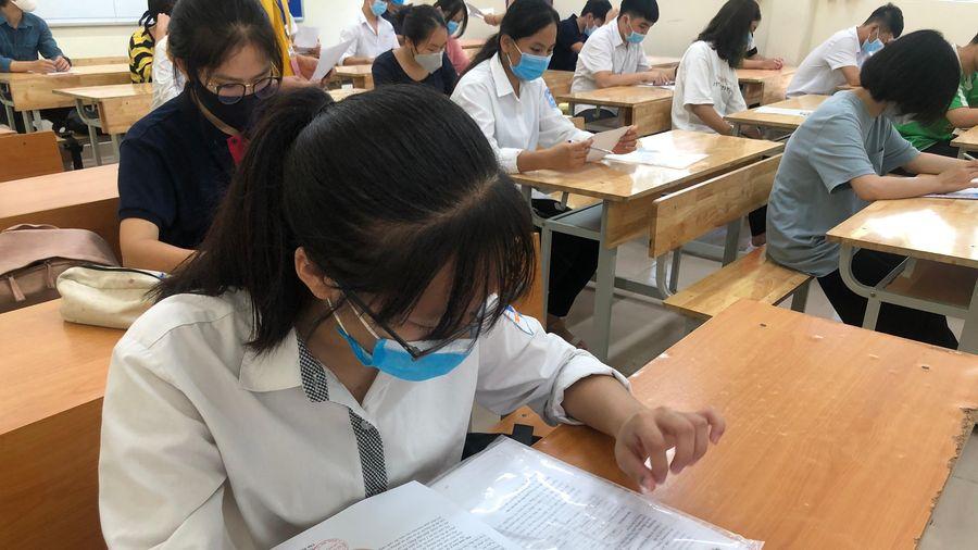 867.000 thí sinh dự thi tốt nghiệp ngày đầu, chỉ 13 thí sinh vi phạm quy chế thi