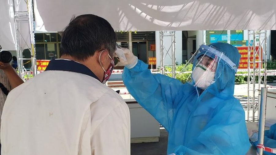 Bệnh viện C Đà Nẵng đón bệnh nhân trở lại