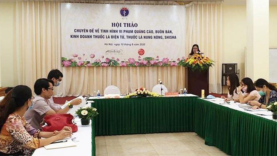 Việt Nam có tỷ lệ nam giới sử dụng thuốc lá điếu tới 45,3% và 1,1% ở nữ