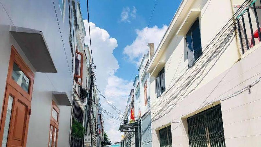 Xây dựng trái phép 35 căn nhà liền kề ở Đồng Nai