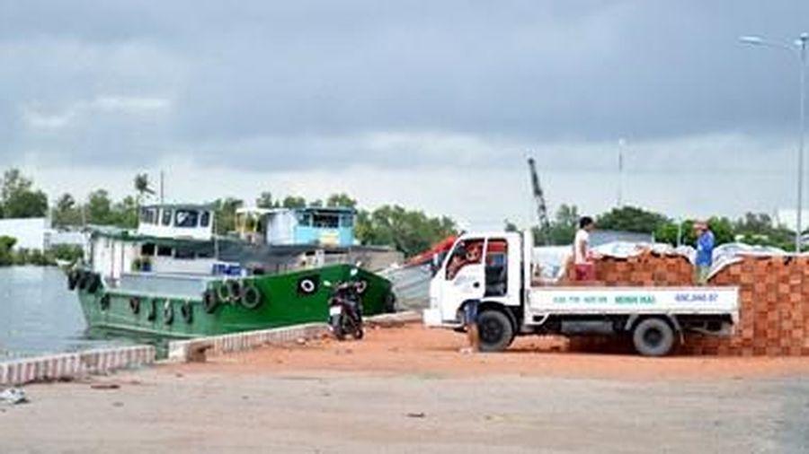 Cảng Cà Mau kinh phí đầu tư gần 150 tỷ đồng hoạt động cầm chừng