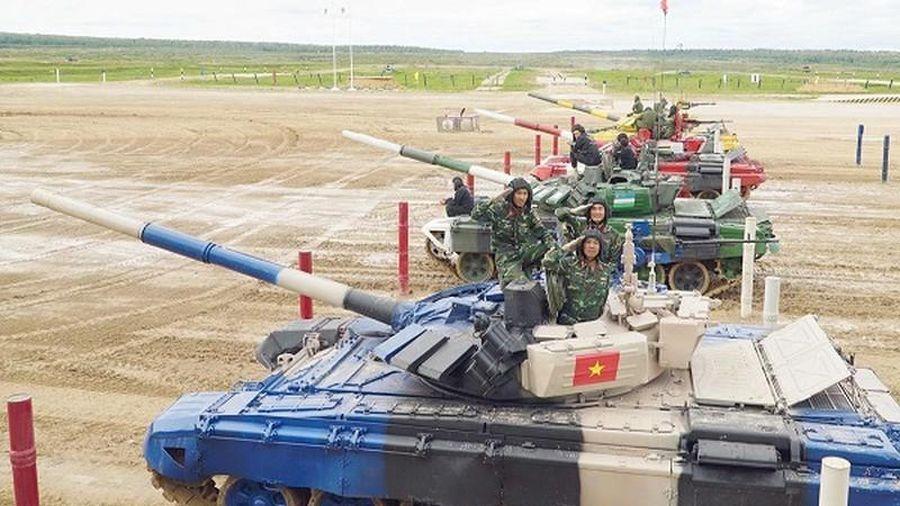 QĐND Việt Nam tham dự Army Games 2020: Ra quân, quyết đánh thắng!