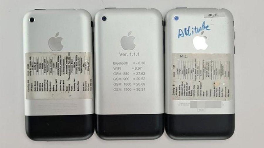 Bất ngờ xuất hiện nguyên mẫu iPhone đời đầu chưa từng công bố