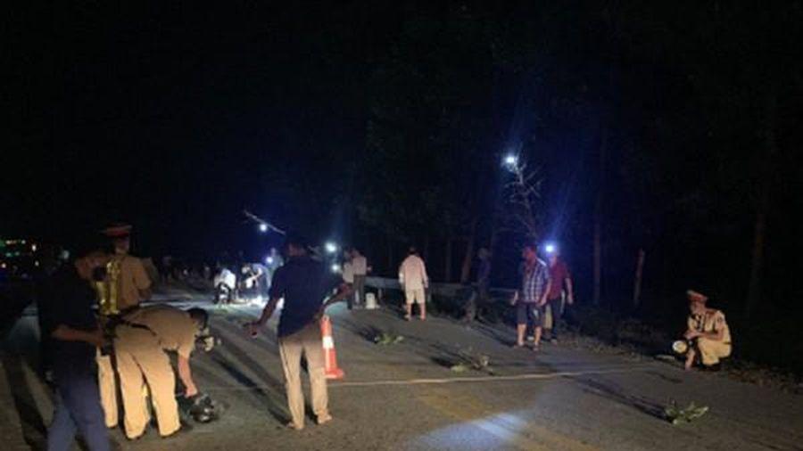 Khởi tố tài xế tông chết người bỏ trốn khỏi hiện trường