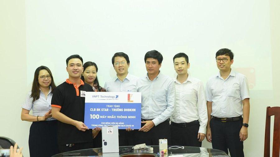 COVID-19: Bệnh viện Đà Nẵng sẽ nhận được 100 máy nhắc thông minh